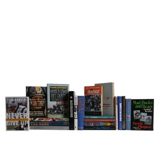 Pro Football's History & Legends - Set of Twenty Decorative Books