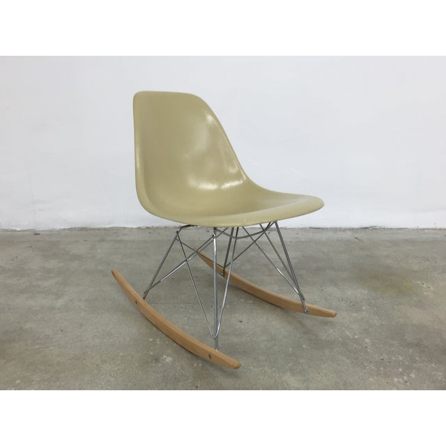 Eames Side Shell Rocking Chair - Image 2 of 8