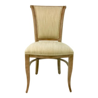 Transitional Currey & Co. Dashwood Chair For Sale