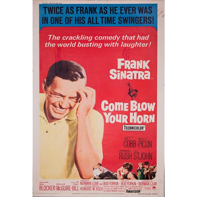 Come Blow Your Horn Giant 1966 Movie Poster - Image 1 of 2