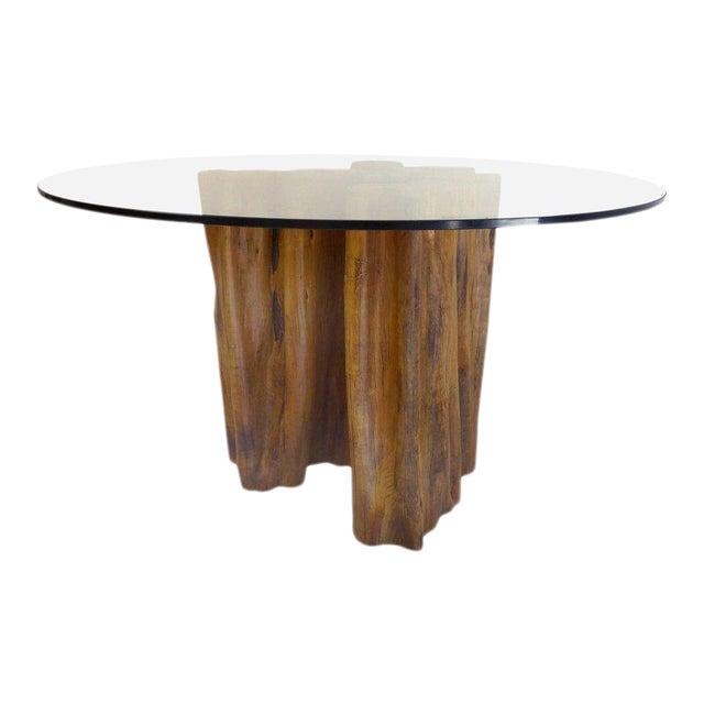 Sculptural Amazon Guaranta Table Base from Brazilian Artist Valeria Totti For Sale