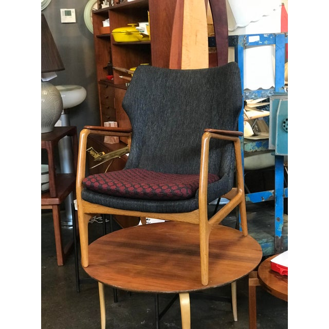 1960s Bender Madsen Danish Modern Low Back Lounge Chair For Sale - Image 5 of 5