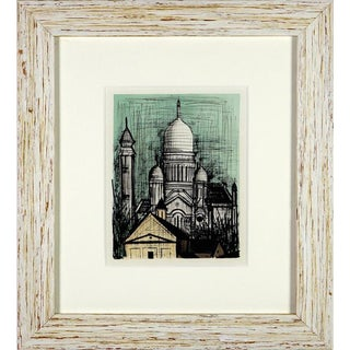 Bernard Buffet Sacre Couer Limited Edition Lithograph For Sale