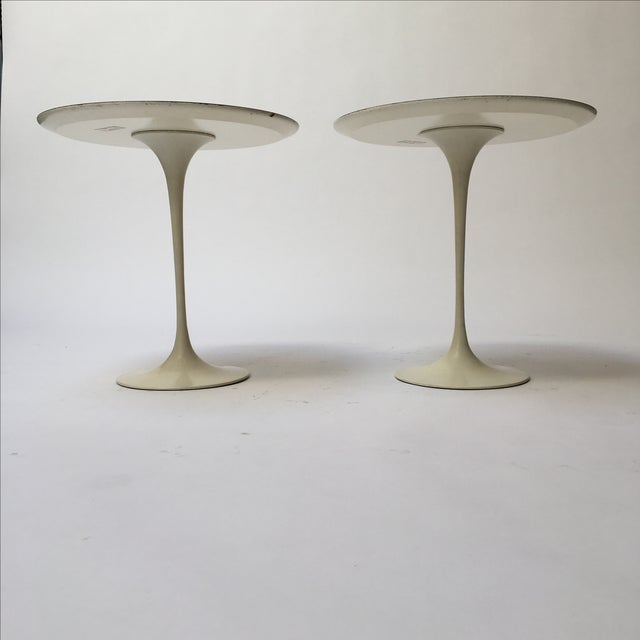 1st Edition Tulip Side Tables - Pair - Image 4 of 11