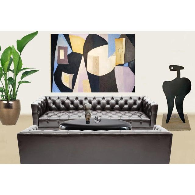 """Vase Flowers & Mandolin"" by Artist Robert Diesso For Sale - Image 4 of 5"