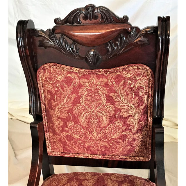 Empire Revival His & Hers Chairs - a Pair - Image 9 of 11