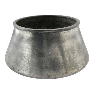 Solid Aluminum Mid-Century Cauldron For Sale