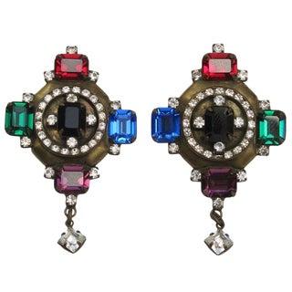 Jewel Earrings For Sale