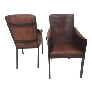 Modern Arts and Crafts Hickory Chair Co. Gunnison Side Chairs