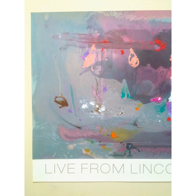 """This Helen Frankenthaler rare limited edition original hand pulled silkscreen serigraph Abstract Expressionist print """"..."""