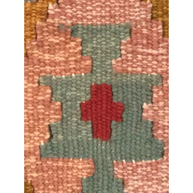 """Vintage Turkish Flat Weave Kilim Rug - 3'3"""" x 6'3"""" For Sale - Image 10 of 11"""