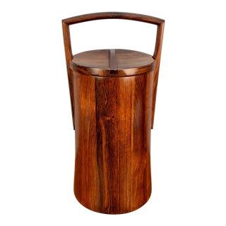 Jens Quistgaard for Dansk Palisander Ice Bucket For Sale