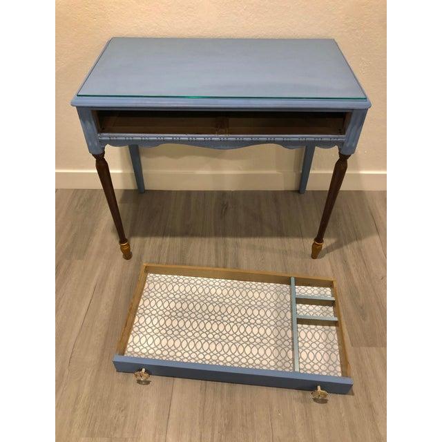 Antique Victorian Refurbished Writing Desk For Sale - Image 9 of 11