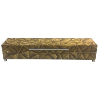 Mid-Century Modern Lizard Pattern Decorative Box For Sale