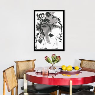 "Medium ""Black and White Portrait"" Print by Leslie Weaver, 18"" X 24"" Preview"