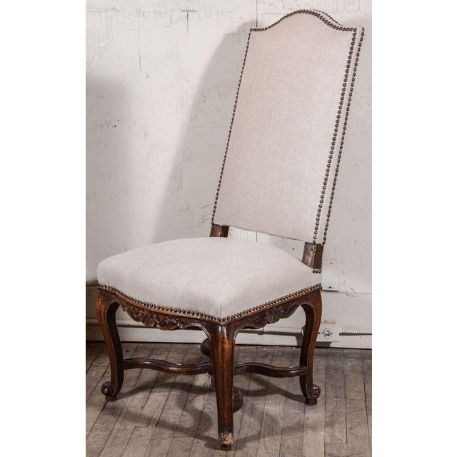 Wood Pair of Régence Side Chairs For Sale - Image 7 of 10