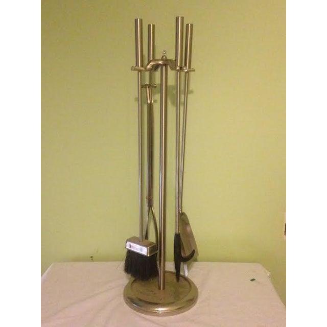 Vintage Modernist Fire Tools - Set of 5 - Image 2 of 5