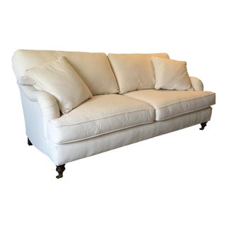 Modern Country Style White Sofa For Sale