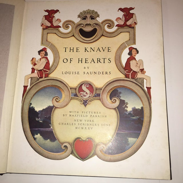 1920s 1st Ed 1925 the Knave of Hearts Maxfield Parrish For Sale - Image 5 of 11