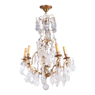 French Napoleon III Crystal Chandelier, circa 1870s
