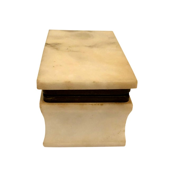 1940s Italian Marble Box For Sale In Tampa - Image 6 of 8
