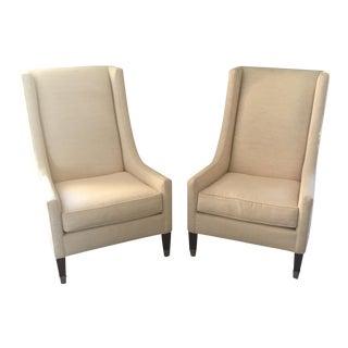 Kravet Navarre Tall Chairs - A Pair