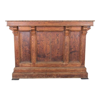 Antique French Shop Counter For Sale
