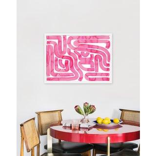 "Medium ""Pink Pool"" Print by Kate Roebuck, 30"" X 22"" Preview"