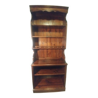 Ethan Allen English Toffee Shelf For Sale