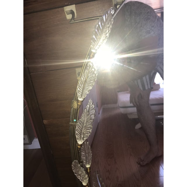 1960s Art Deco Grecodeco Glamour Mirror For Sale - Image 10 of 13