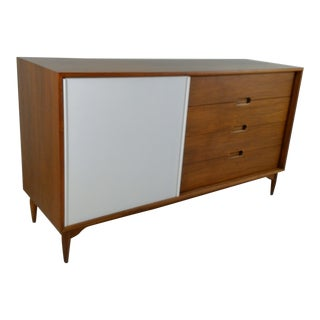 1960s Mid-Century Modern Brown and Saltman Lowboy Dresser For Sale