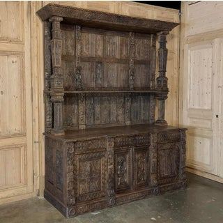 19th Century English Two-Tiered Cupboard Preview