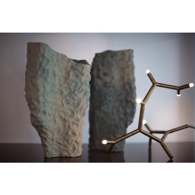 Abstract Steven Haulenbeek Resin Bonded Sand Vessel #49 For Sale - Image 3 of 7