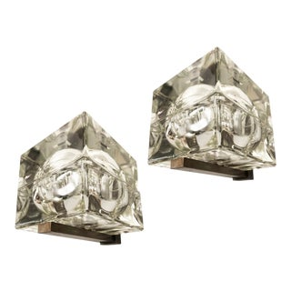 Cubosfera Wall Lights by Alessandro Mendini - a Pair For Sale