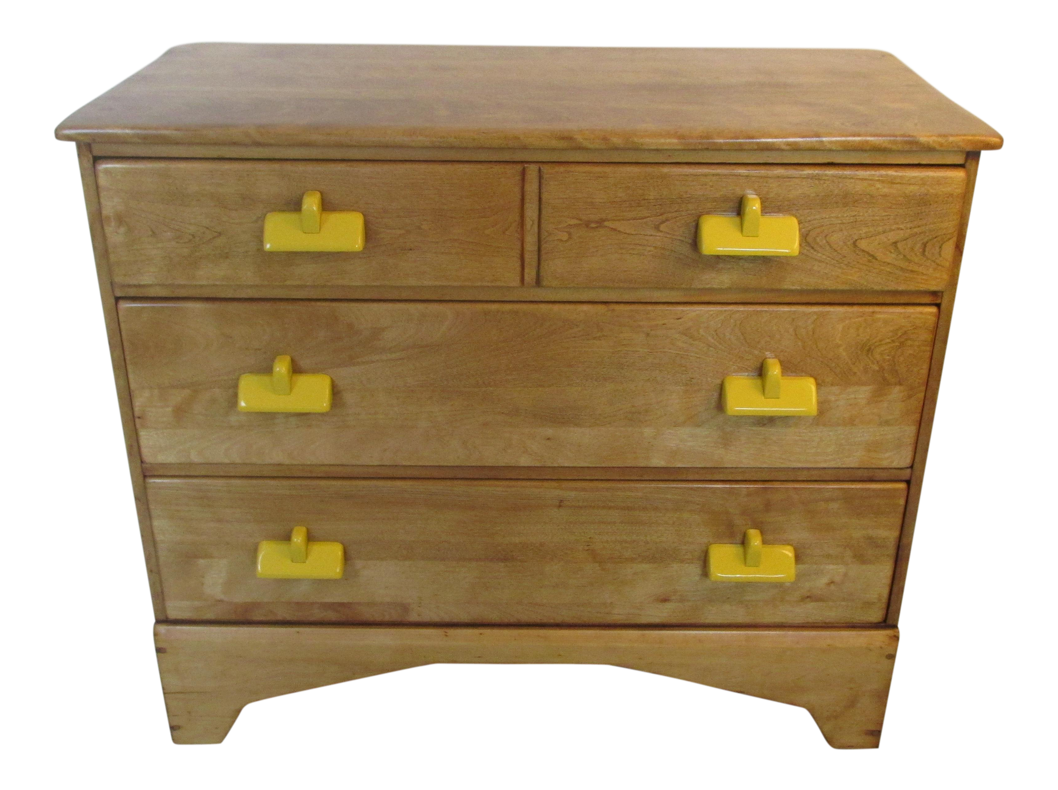 Merveilleux Vintage Rustic / Lodge Style Chest Of Drawers By Herman DeVries