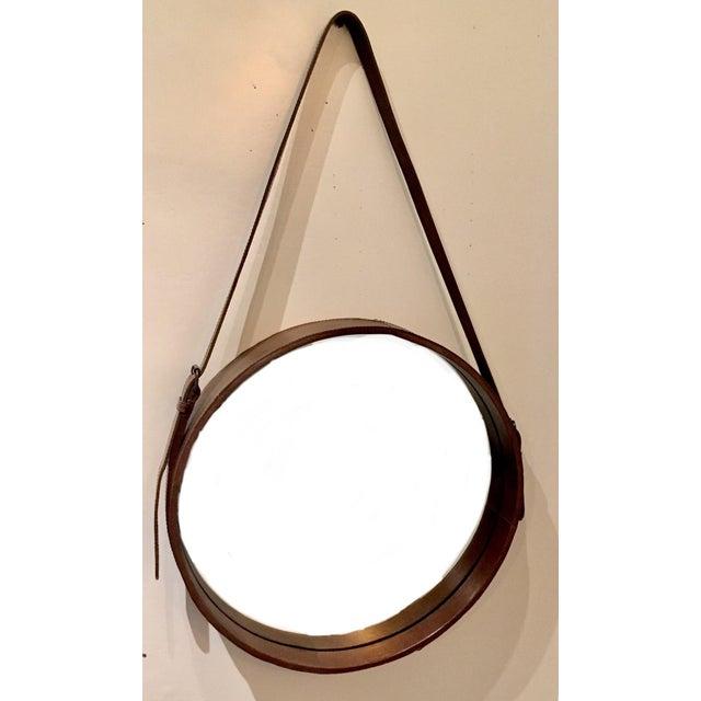 Lawson Fenning Leather Strap Mirror - Image 8 of 8