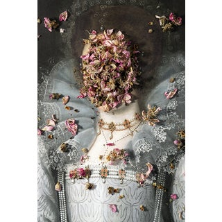 """""""Even Flowers Died in 2020"""" Contemporary Dada Style Limited Edition Photograph by Zeren Badar"""