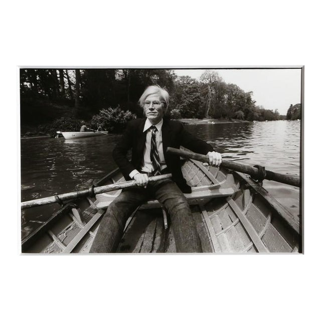 Christopher Makos, At the Bois de Boulogne (Warhol: Ten Images), 1981 From the series From the Warhol | Ten Images Portfolio For Sale