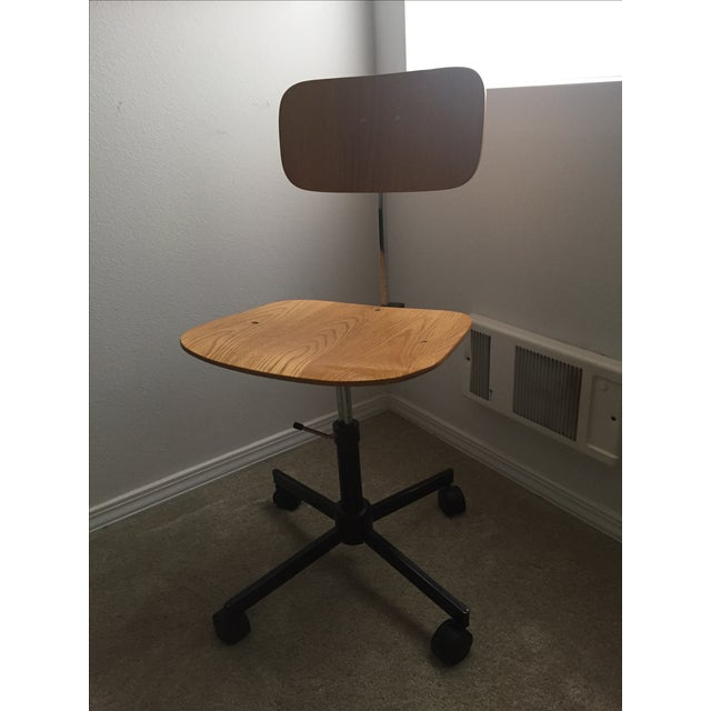 Vintage Swivel Office Chair Made by Rabami Stole - Image 2 of 8