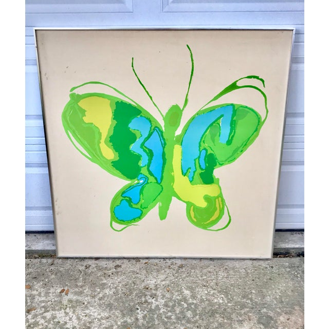 Tom Tru for Raymore MCM Serigraph Butterfly Print For Sale - Image 13 of 13