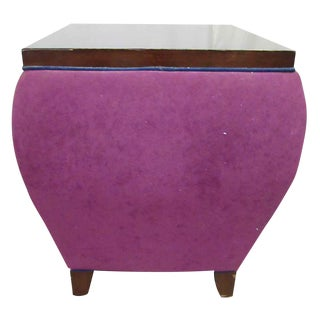 Modern Purple Display Table For Sale