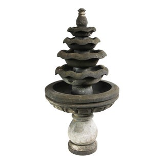 Lava Stone Garden Fountain For Sale