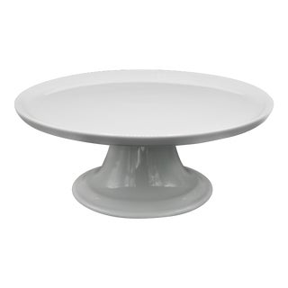 Mid Century Pillivuyt French Cake Stand / Centerpiece / Display Stand For Sale