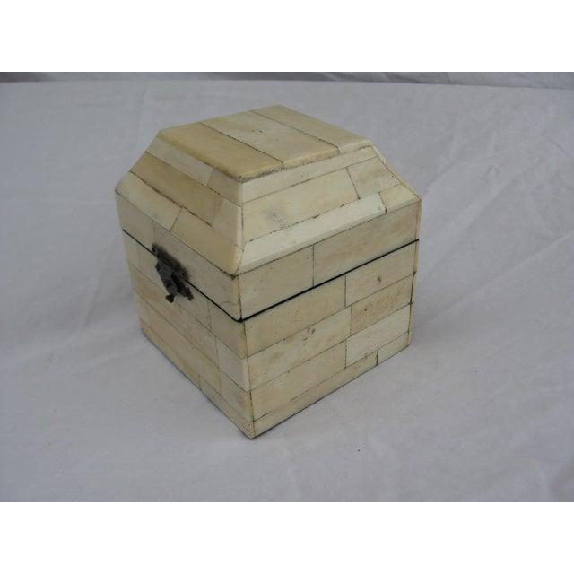 Chinese Bone Inlay Box - Image 6 of 9