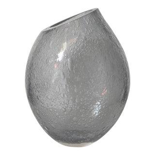 Smoky Gray Vase by Alberto Dona For Sale