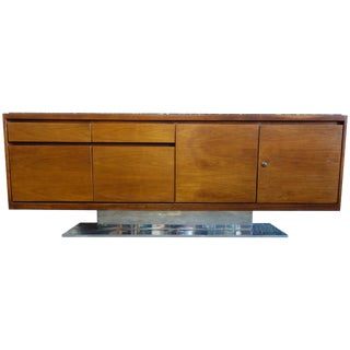 1970s Mid-Century Modern Warren Platner for Lehigh Leopold Credenza For Sale