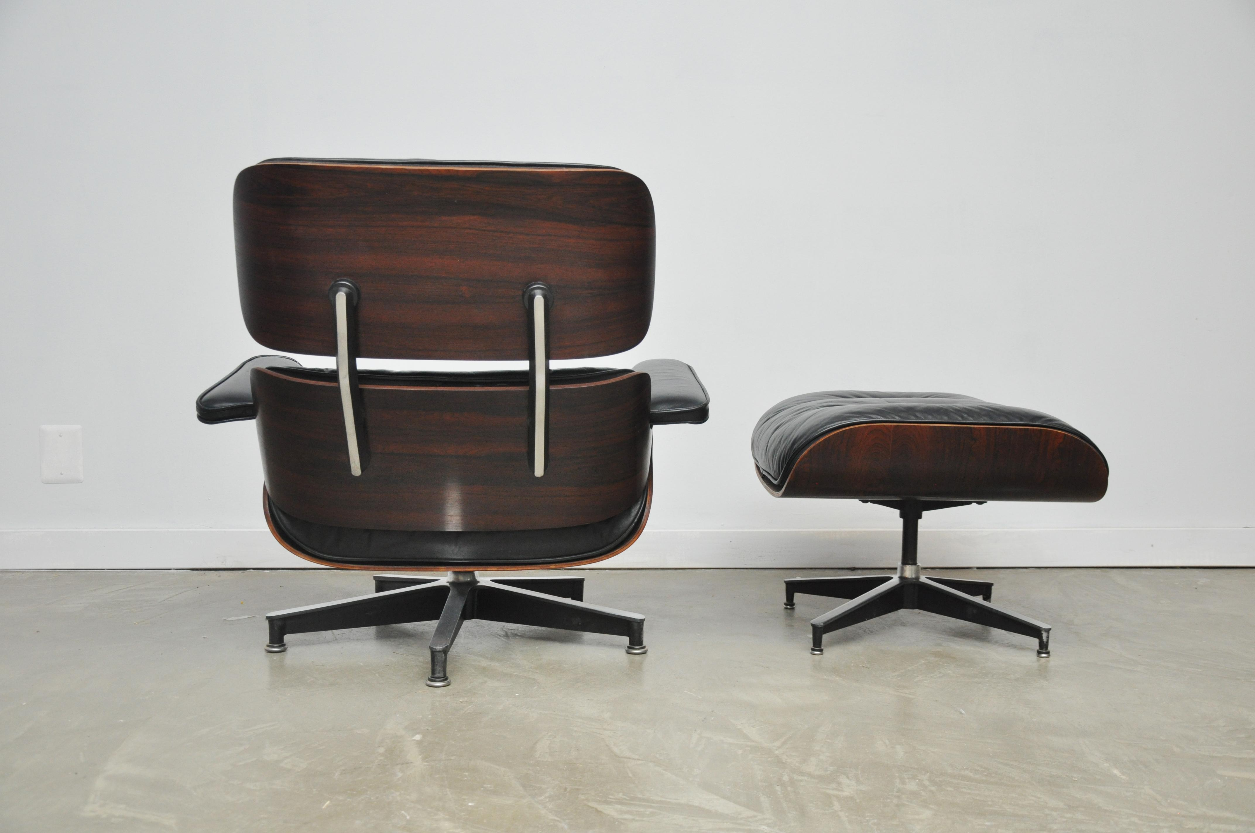 Charles Eames Lounge exquisite rosewood charles eames lounge chair for herman miller decaso