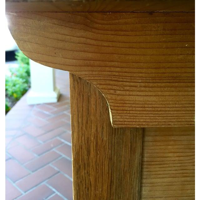 French Pine Single-Drawer Desk - Image 5 of 11