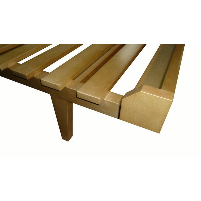 Customizable Moore Slatted Daybed Frame For Sale - Image 4 of 9