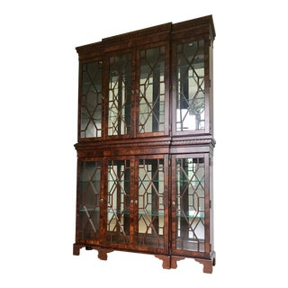 Broyhill Recessed Lighting China Cabinet - 2 Pieces